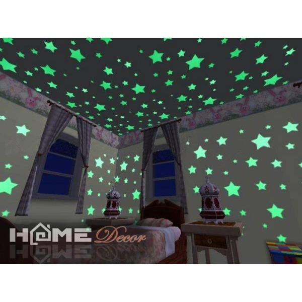 Home decor светящиеся фосфорные сердечки